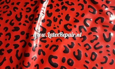Exklusive Latex - Muster Leopard 06