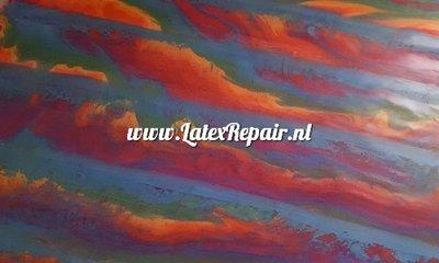 Feuille de latex spécial Rainbow