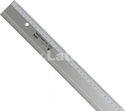 Snijliniaal 30 cm aluminium