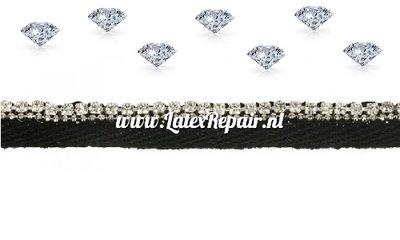 Keperband met diamantjes
