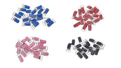 Bretelclips metaal mini