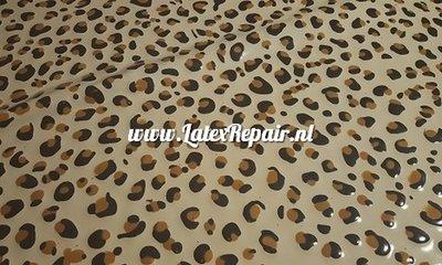 Exclusief latex - Patroon Leopard dubbele vlekken 04