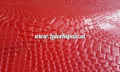Latex exclusif - Structure 3D Snakeskin 1 couleur