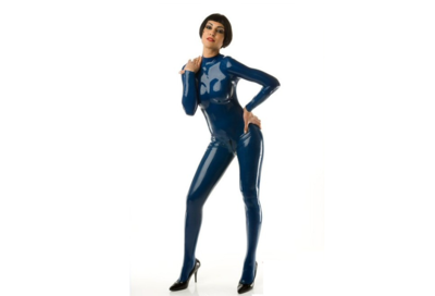 Night shade dark blue latex