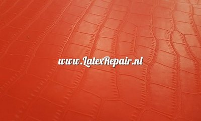 crocodile latex rood  01