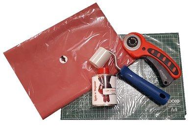 Startpakket latex kleding maken, starter kit