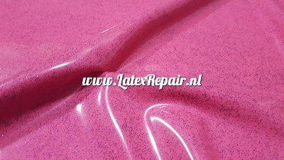 pink violet glitter roze latex