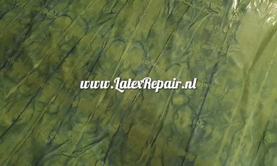Latex sheet - Tye dye - green/black lines 1219