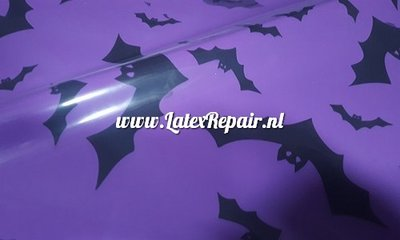 latex sheet vleermuis bat