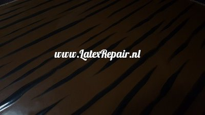 Latex sheet - Tiger chocolate 1307