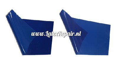 Latex 0.40 mm    Basic blue / gentiaan blue 110 cm