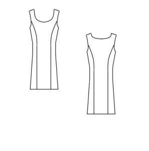 Patroon: Jurk - Prinsessenlijn