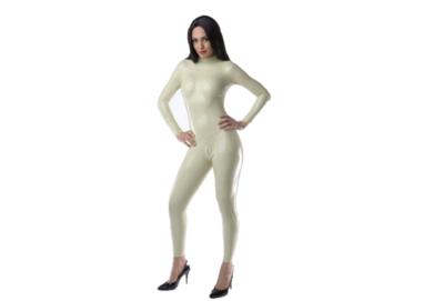 Zand latex  dun en dik stevig glimmend latex om zelf latex kleding te maken en te repareren per meter groothandel