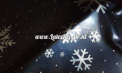 Latex sheet stof kerst xmas wheinachten meterware sheeting 01