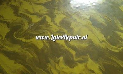 Marmer effect latex stof sheet fabric