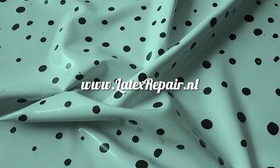 Latex sheet sheeting with dots dotted