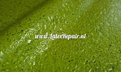 Latex met relief van cracked ice 3d sheet om latex poison ivy jurk dress cosplay