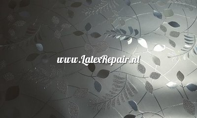3D latex met relief textured bloemen flowers spring
