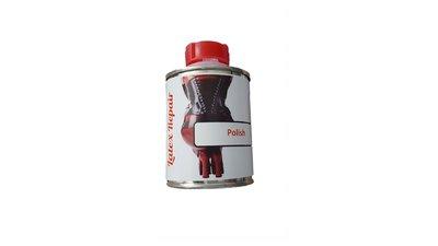 Latex polish voor latex kleding te onderhouden glimmen bewaren schoonmaken en aantrekken
