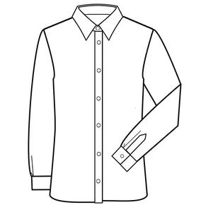 Patroon voor om zelf een latex overhemd shirt blouse te maken 01