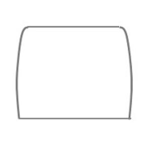 Eenvoudig makkelijk patroon voor een latex rok zelf te maken