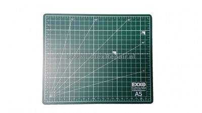 Snijmat a5 zelfsluitend groen cm inches graden dubbelzijdig flexibel 3 lagen