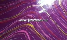 Colourful sheet bespoke draaikolk lijnen