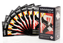 Vivishine fresh up meeneemdoekjes wipes hoogglans latex kleding