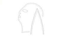 Patroon voor een latex masker zelf te maken