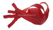 Dubbel deelbare blokrits rood zwart 90 cm